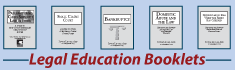 Link to community legal education booklets